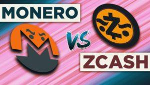Monero vs Zcash